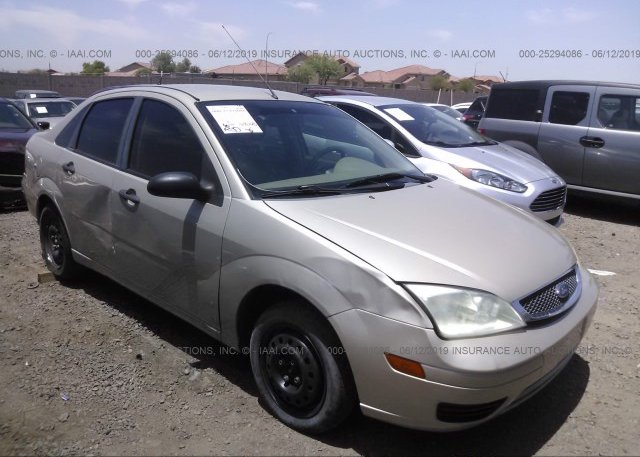 Inventory #125909156 2007 FORD FOCUS