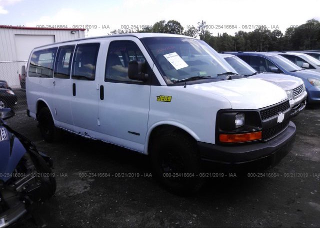 Inventory #455022175 2003 Chevrolet EXPRESS G2500