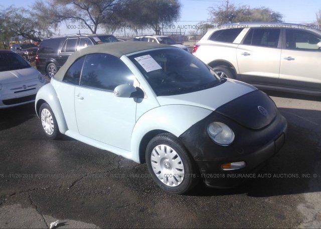 Inventory #300419239 2004 Volkswagen NEW BEETLE