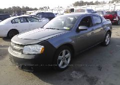 2013 Dodge AVENGER - 1C3CDZCB0DN662323 Right View