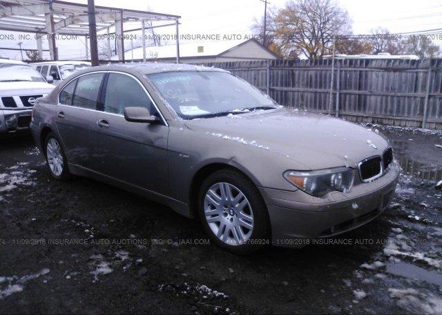 Inventory #818497122 2002 BMW 745