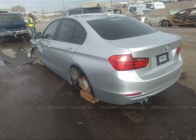 купить 2013 BMW 3 SERIES WBA3C1G52DNR47963