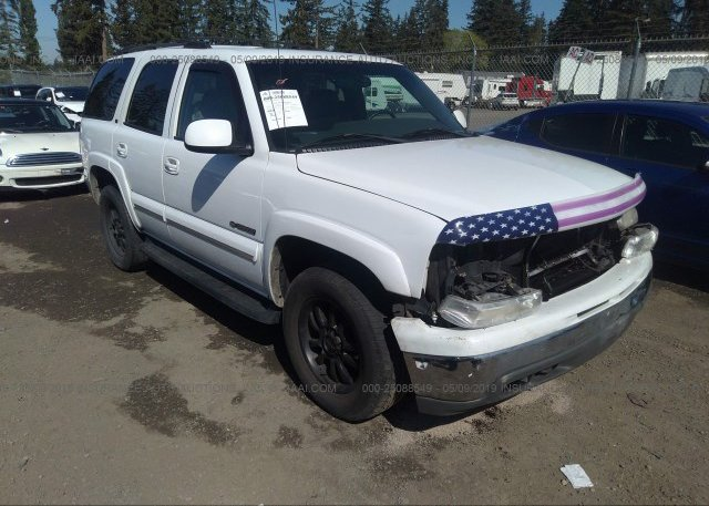 Inventory #200791921 2002 Chevrolet TAHOE