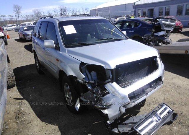 Inventory #392650105 2007 Honda PILOT