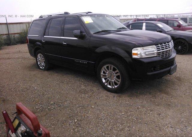 5LMFU28547LJ22484, Salvage Title black Lincoln Navigator at AMARILLO ...