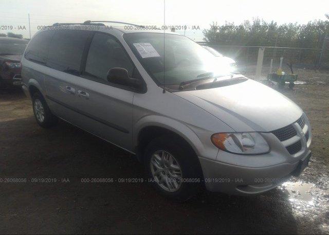 Inventory #268072145 2002 Dodge GRAND CARAVAN
