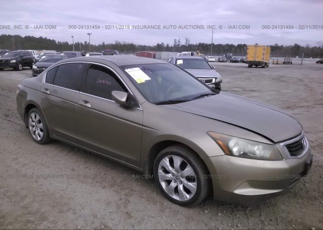 Inventory #916189453 2008 HONDA ACCORD
