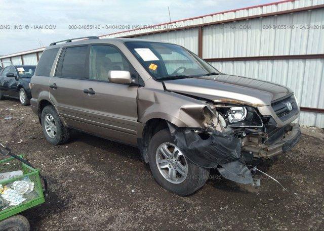 Inventory #806014531 2005 Honda PILOT