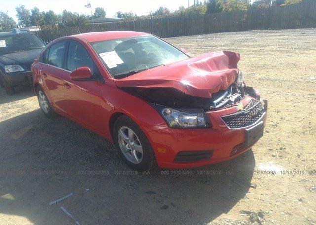 Inventory #997487126 2014 Chevrolet CRUZE
