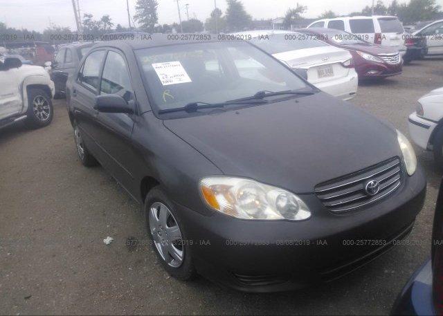 Inventory #691534580 2004 Toyota COROLLA