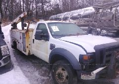 2010 FORD F450 - 1FDAF4HR0AEA12453 Left View