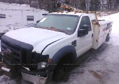 2010 FORD F450 - 1FDAF4HR0AEA12453 Right View