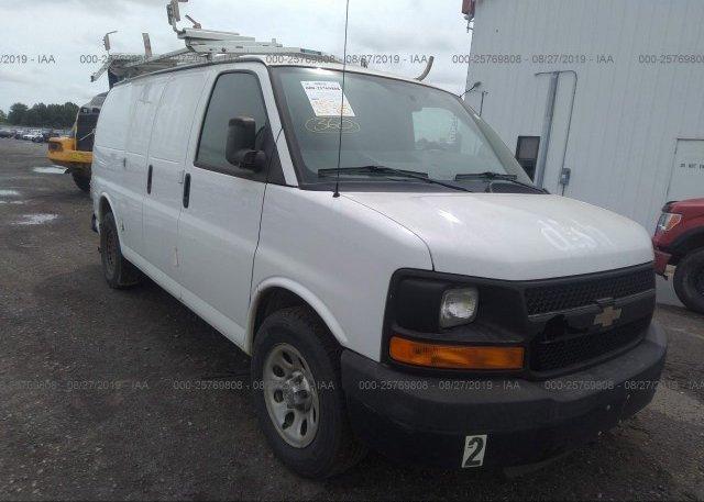Inventory #330224909 2013 Chevrolet EXPRESS G1500
