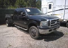 2003 FORD F550 - 1FDAW57P13ED27528 Left View