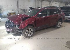 2012 Subaru OUTBACK - 4S4BRBCCXC3292836 Right View