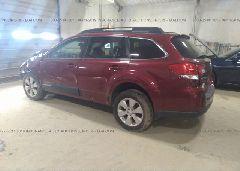 2012 Subaru OUTBACK - 4S4BRBCCXC3292836 [Angle] View
