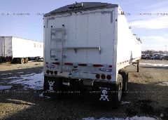 2015 WILSON TRAILER CO GRAIN - 4WW4412A4F7709031 rear view