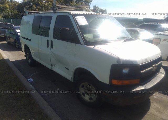 Inventory #189514594 2004 Chevrolet EXPRESS G3500