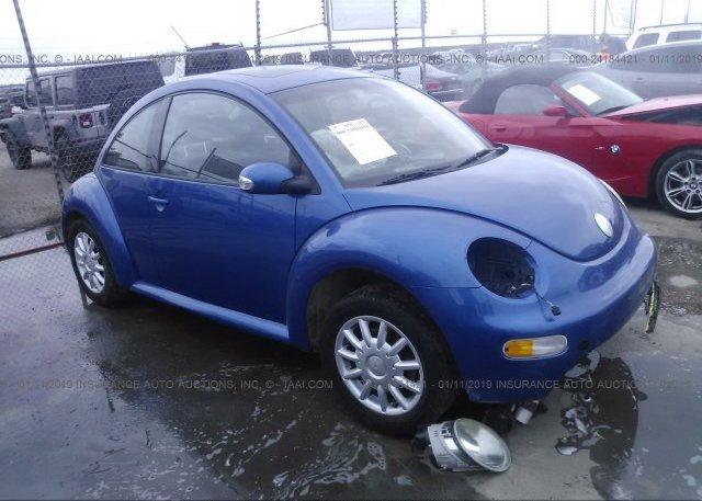 Inventory #222383681 2004 Volkswagen NEW BEETLE