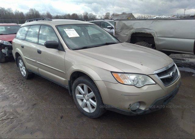 Inventory #661642391 2008 Subaru OUTBACK