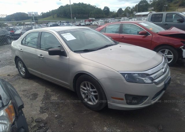Inventory #689483765 2010 FORD FUSION