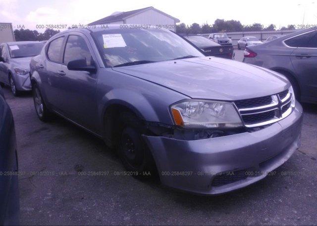 Inventory #789311125 2013 Dodge AVENGER