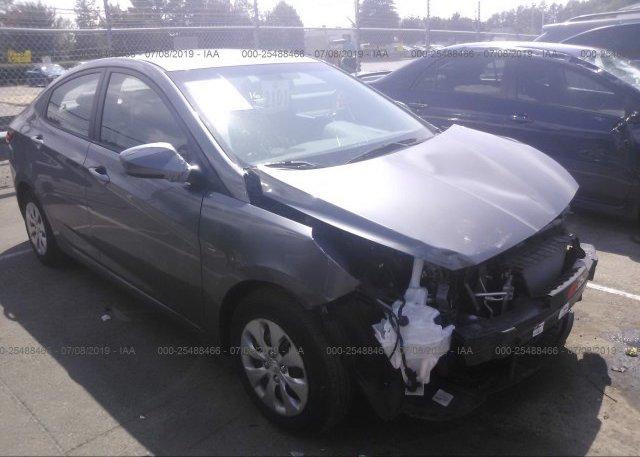 Inventory #638235614 2016 Hyundai ACCENT