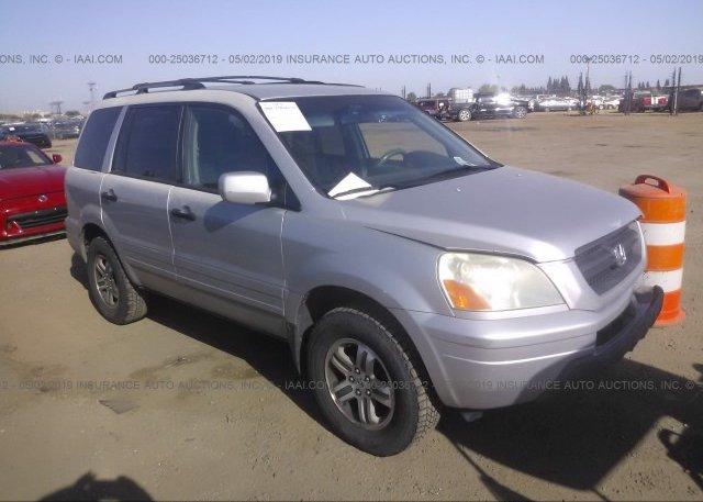 Inventory #844679522 2004 Honda PILOT