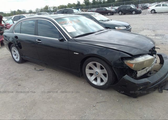 Inventory #123744535 2006 BMW 750