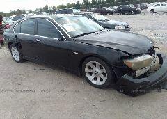 2006 BMW 750 - WBAHN83506DT31024 Left View