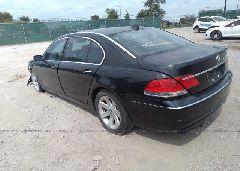 2006 BMW 750 - WBAHN83506DT31024 [Angle] View
