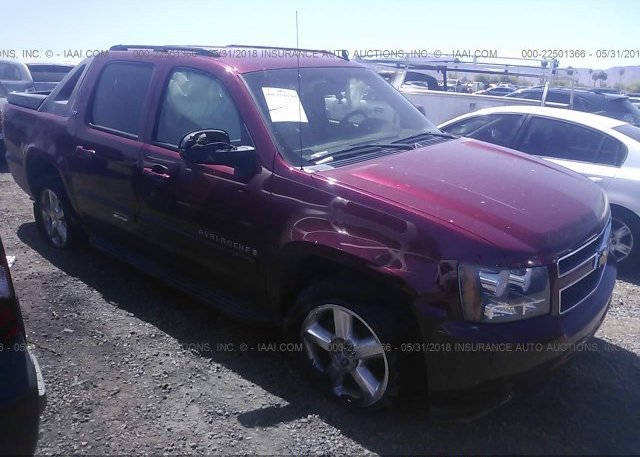 Inventory #186508745 2007 Chevrolet AVALANCHE