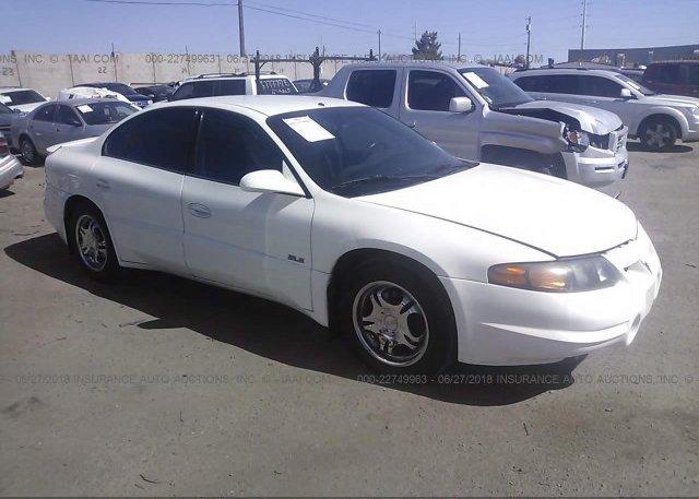 Inventory #765380571 2002 Pontiac BONNEVILLE