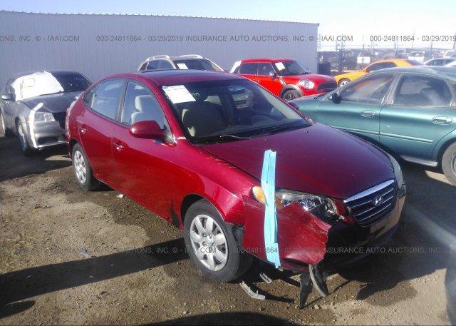 Inventory #545777146 2007 Hyundai ELANTRA