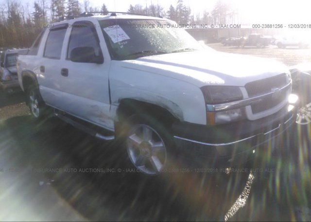 Inventory #872358396 2004 Chevrolet AVALANCHE