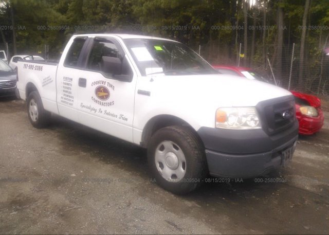 Inventory #256338520 2007 FORD F150