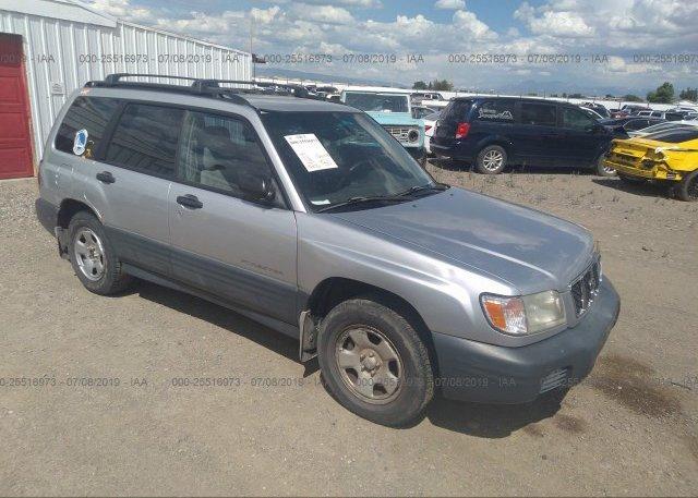Inventory #463266942 2002 Subaru FORESTER