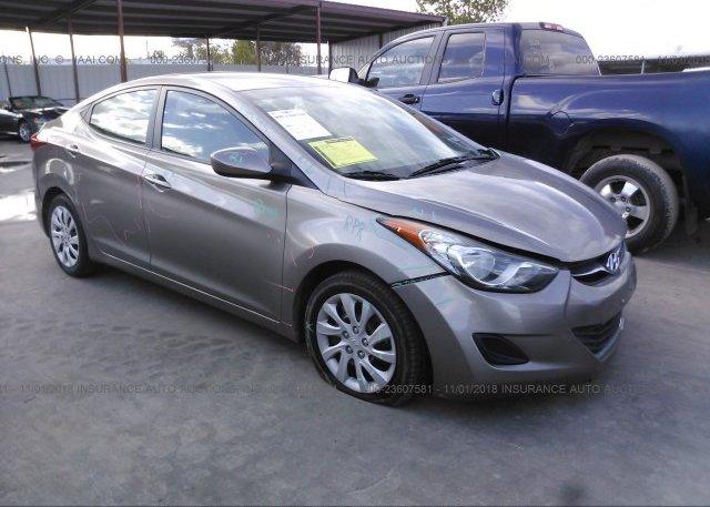 Inventory #375076148 2013 Hyundai ELANTRA