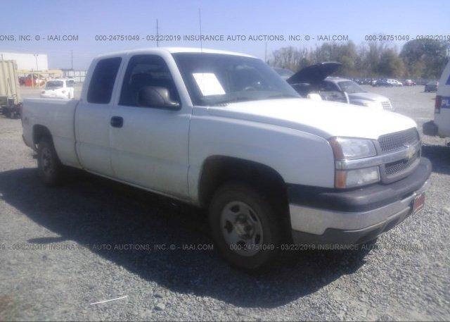 Inventory #679126190 2003 Chevrolet SILVERADO
