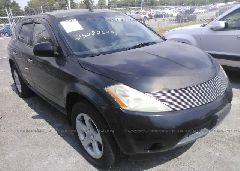 2005 Nissan MURANO - JN8AZ08W65W427615 Left View