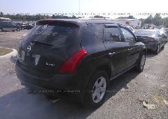 2005 Nissan MURANO - JN8AZ08W65W427615 rear view