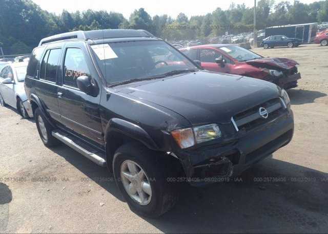 Inventory #587797019 2002 Nissan PATHFINDER