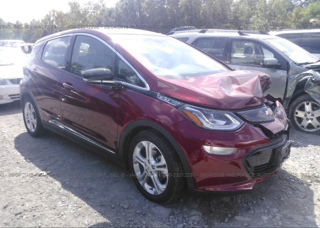 1g1fw6s0xh4171750 Salvage Title Red Chevrolet Bolt Ev At Houston