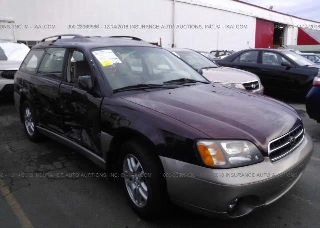 Inventory #384146543 2001 Subaru LEGACY