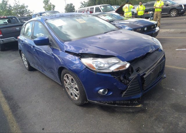 1fahp3k29cl290813 Salvage Dark Blue Ford Focus At Portland Or On