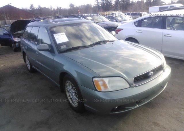 Inventory #684180728 2004 Subaru LEGACY
