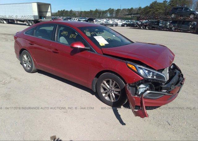 Inventory #153594968 2017 Hyundai SONATA