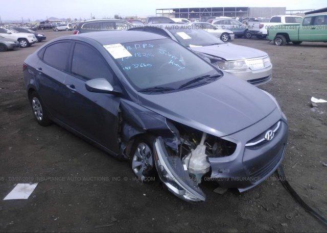 Inventory #885764701 2016 Hyundai ACCENT