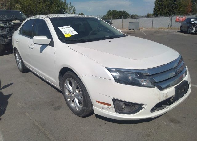 Inventory #742489617 2012 FORD FUSION