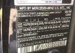 2009 Mercedes-benz R - 4JGCB65E99A091402 engine view